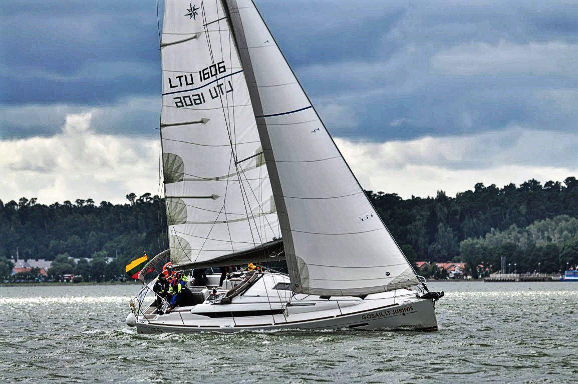 Jeanneau Sun Odyssey 36i laivo nuoma Klaipedoje, Gosail